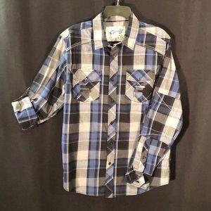L/S Plaid Shirt